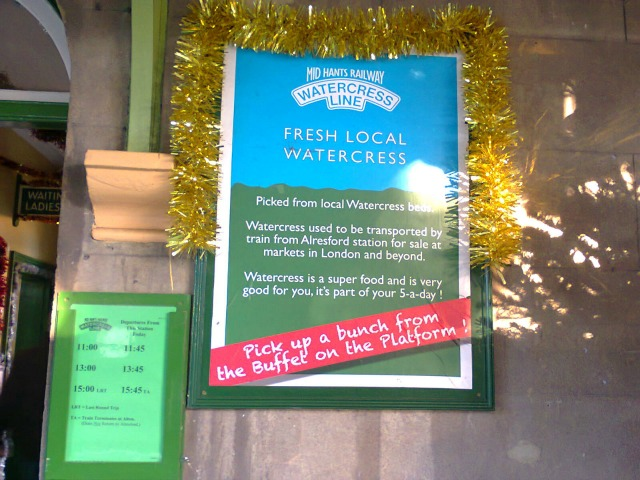 Why the Watercress Line is so named