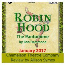 Robin Hood and the Chameleons – Review by Allison Symes