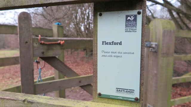 Now more formally known as Flexford - a Hampshire & Isle of Wight Wildlife Trust Reserve.