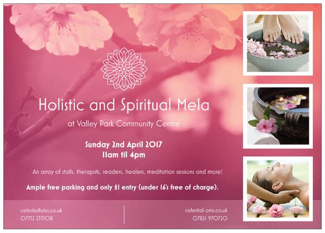 Holistic and Spiritual Gala: 2nd April 2017