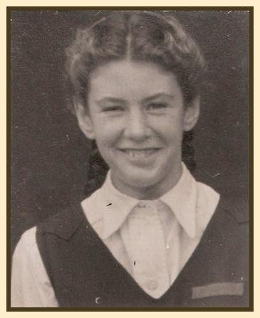 Jane Goater, the schoolgirl.