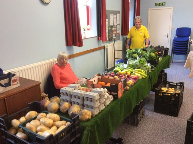Fresh fruit and vegetable at the local market of Chandler's Ford.