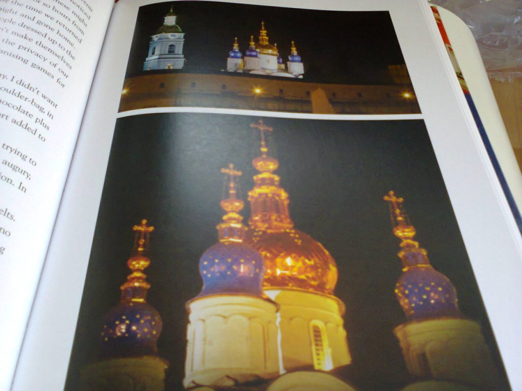 Two views of the Cathedral of St. Sophia