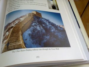Going through the Great Wall of China