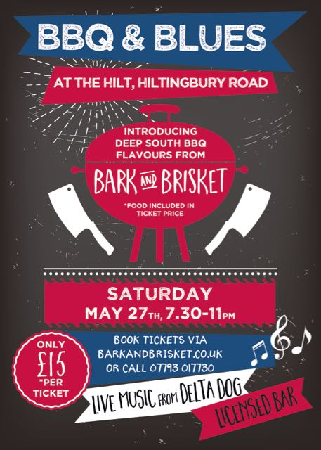 BBQ and Blues - Saturday 27th May