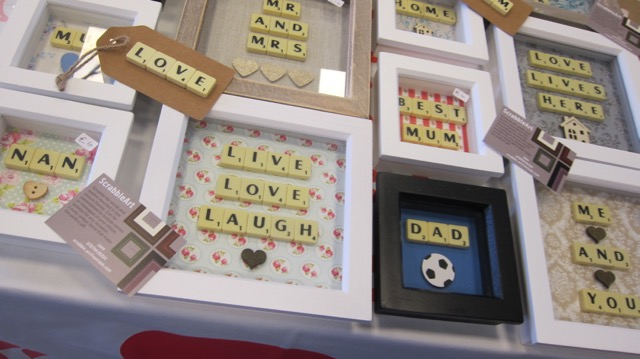 Chandler's Ford Produce and Craft Market Apr 2017 ScrabbleArt by Jane