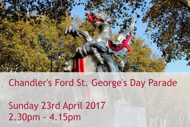 Chandler's Ford St. George's Day - Sunday 23 April 2017