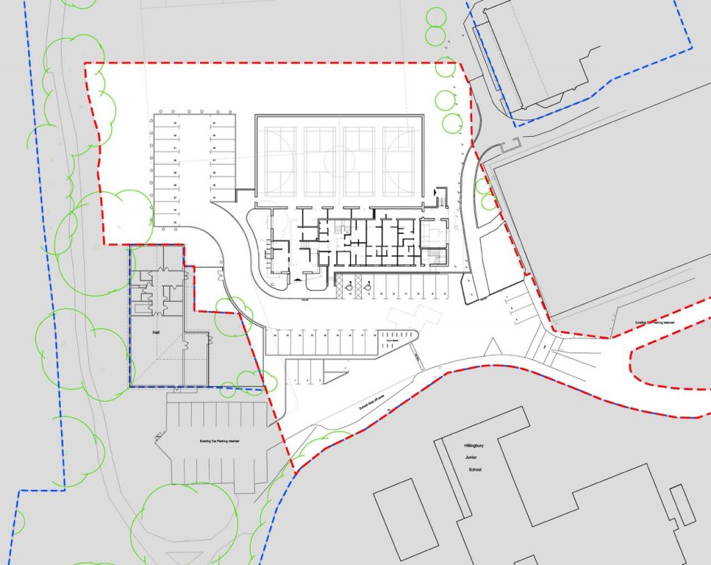 TKLA Hiltingbury Pavilion Proposed Site Plan - Chandle's Ford Parish Council image