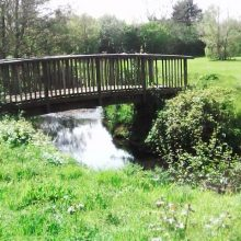 Bridge over Monks Brook