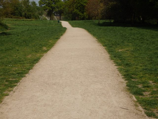 Cycle path at Fleming park
