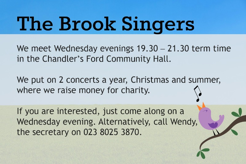 Joining The Brook Singers Chandler's Ford