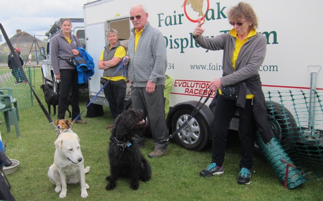 Fair Oak Dog display team