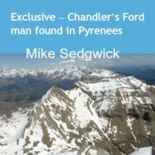 Exclusive – Chandler's Ford man found in Pyrenees