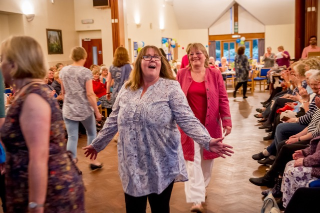 Fairtrade Fashion Show at St Martin in the Wood Church, May 2017. Image credit: Debbie Pearce.