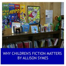 Feature Image Why Children's Fiction Matters - image via Pixabay