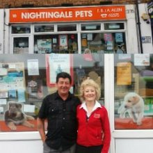 Janet and Fred Saying Goodbye to Nightingale Pets After 29 Years