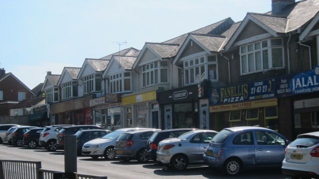 Bournemouth Road shops