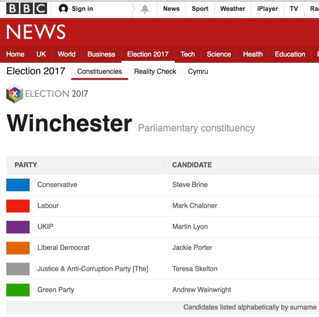 BBC election 2017