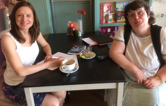 Anne Wan and Allison Symes at Bay Leaves Larder - image by Bay Leaves staff!