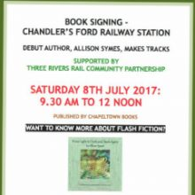 Signing at the Station by Allison Symes