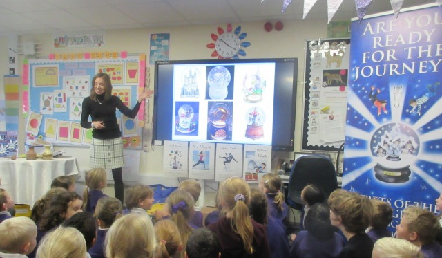 Resized Author Visits in School - image supplied by Anne Wan