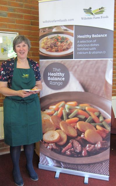 Sue from Wiltshire Farm Foods