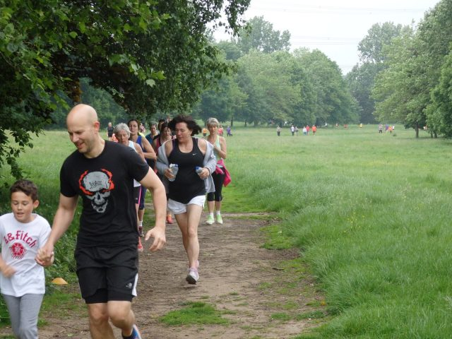 parkrun with children