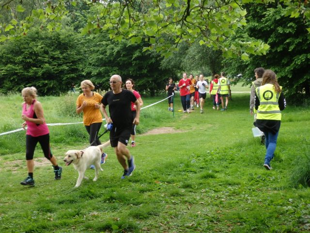 Take part in parkrun with your dog
