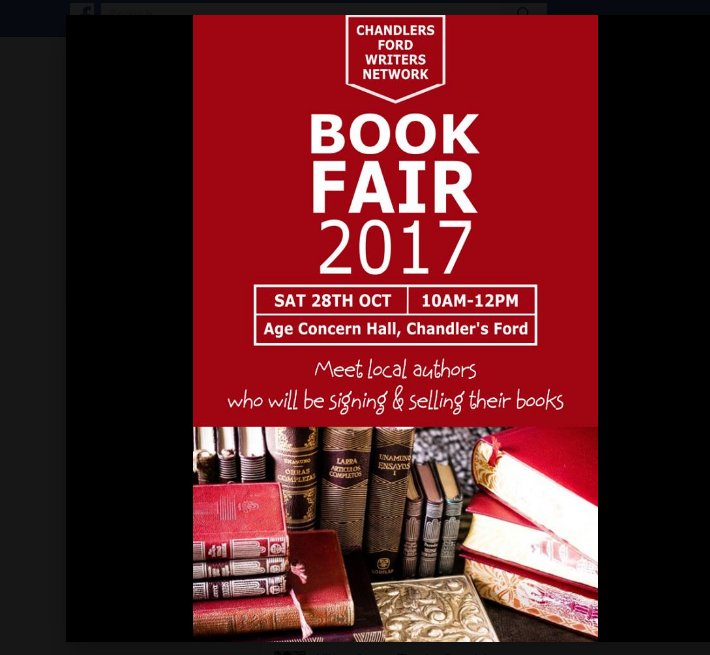 Book Fair advert - image from Catherine Griffin