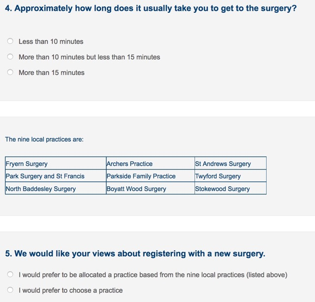 Which surgery for you next?