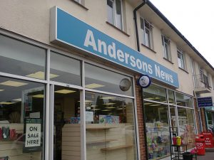 Andersons News - image by Allison Symes