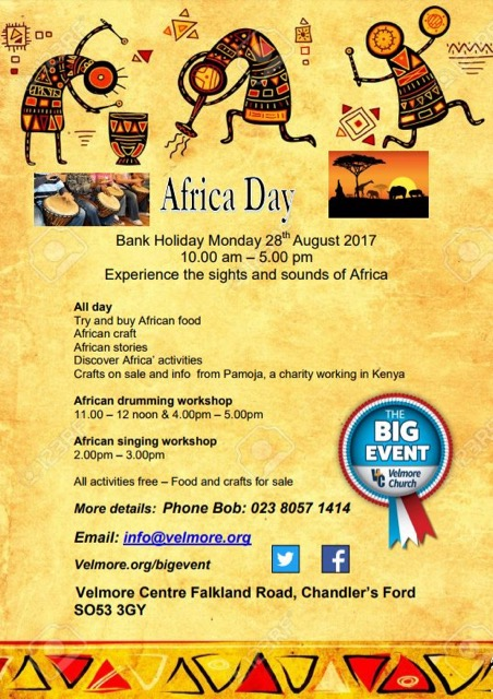 African Day at Velmore Centre