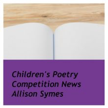 Reminder: Children's Poetry Competition