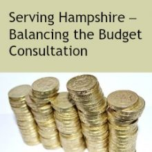 Hampshire County Council: The Balancing the Budget Consultation Closes on 21 August 2017