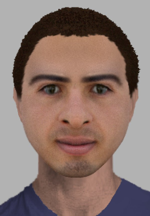 E-fit of a man relating to a Chandler's Ford burglary. via Hampshire Constabulary