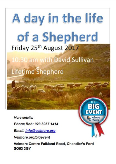 A Day in the Life of a Shepherd with David Sullivan.