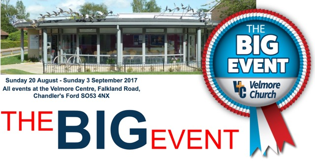 Velmore Centre - The Big Event