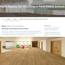 Re-designing Chandler's Ford Infant School: April Rapley Shortlisted for Chartered Institute of Architectural Technologists Award