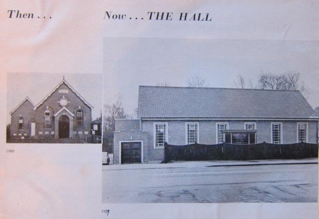 Archive: Chandler's Ford Methodist Church, 1992-1993 Dovetail Project
