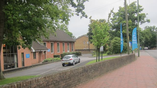 Chandler's Ford Methodist Church on Winchester Road.