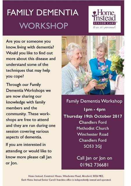 Family Dementia workshop
