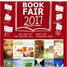 Writers Getting Out and About:  Book Fair 2017