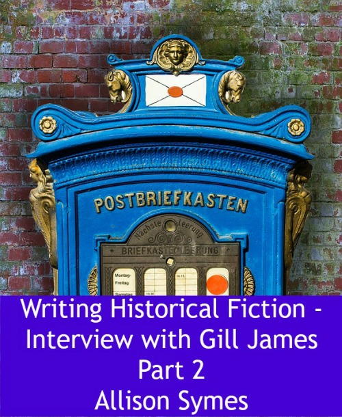 Feature Image Gill James Part 2 Historical Fiction - image via Pixabay