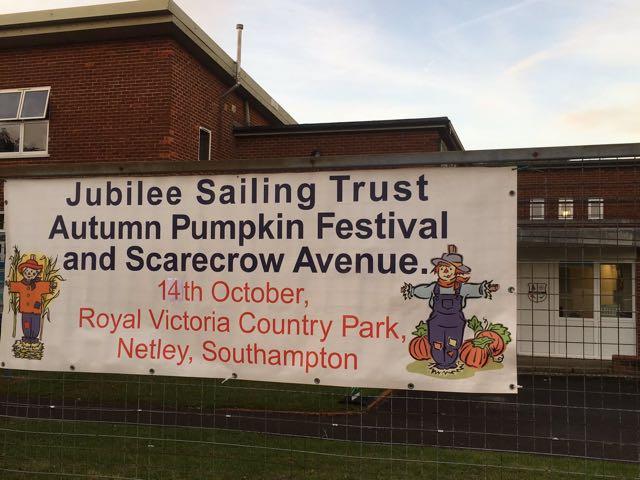 Jubilee Sailing Trust: Pumkpin Festival 14th Oct 2017