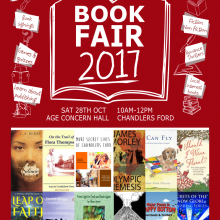 REMINDER:  Book Fair – 28th October 2017
