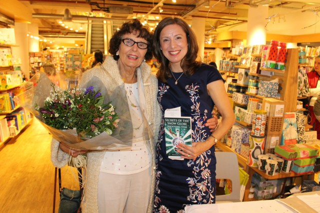 Barbara Large and Anne Wan at a book launch of Anne's. Image kindly supplied by Anne Wan for a previous CFT post.