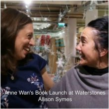 Book Launch Report:  Anne Wan at Waterstones, West Quay