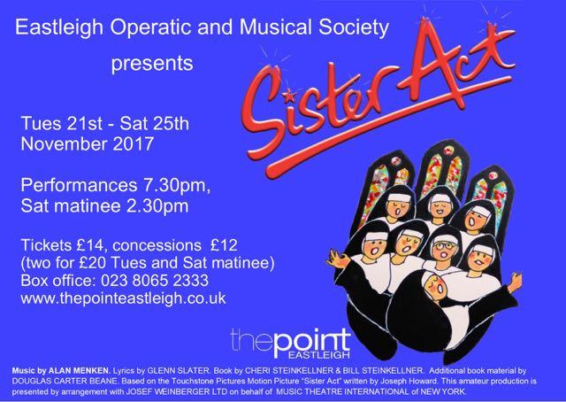 Sister Act Eastleigh