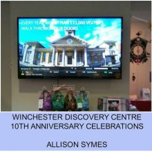 Winchester Discovery Centre – 10th Anniversary Celebrations