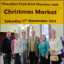 Review: Chandler's Ford Joint Charities 44th Christmas Market 2017